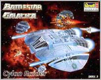 BSG Cylon Raider Box Cover