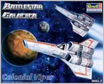 The Battlestar Galactica Colonial Viper Fighter Box Cover