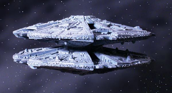 BSG Cylon Base Star Model